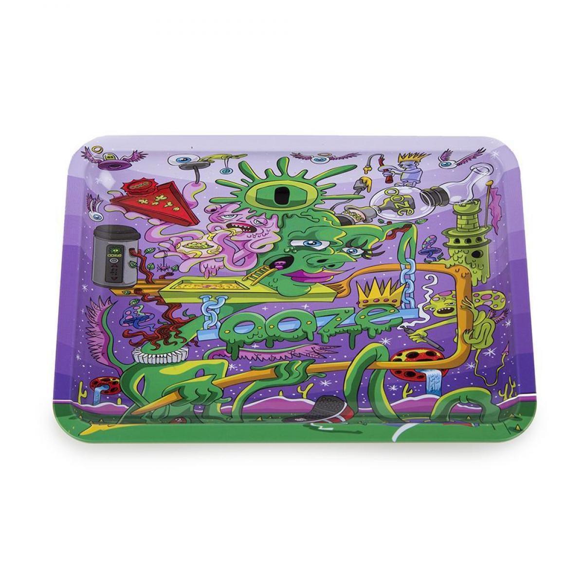 Ooze Rolling Tray - Purple Factory - SMALL
