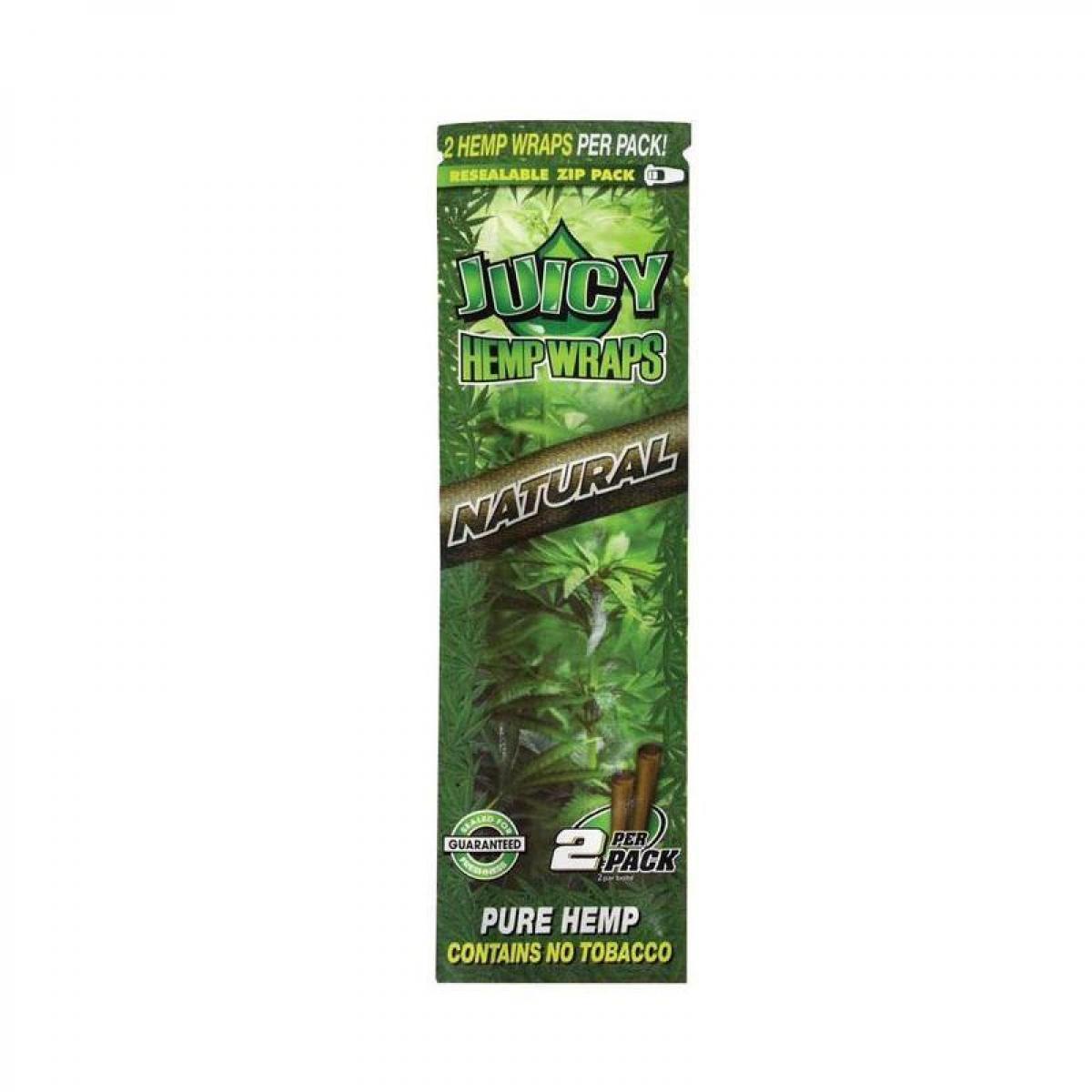 Juicy Jays Hemp Wraps - Natural (2pk)