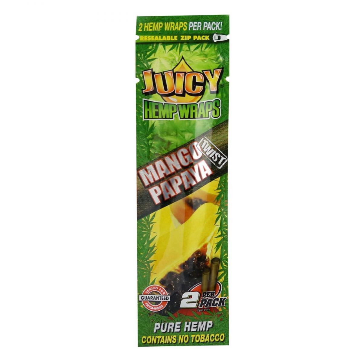 Juicy Jays Hemp Wraps - Mango Papaya (2pk)