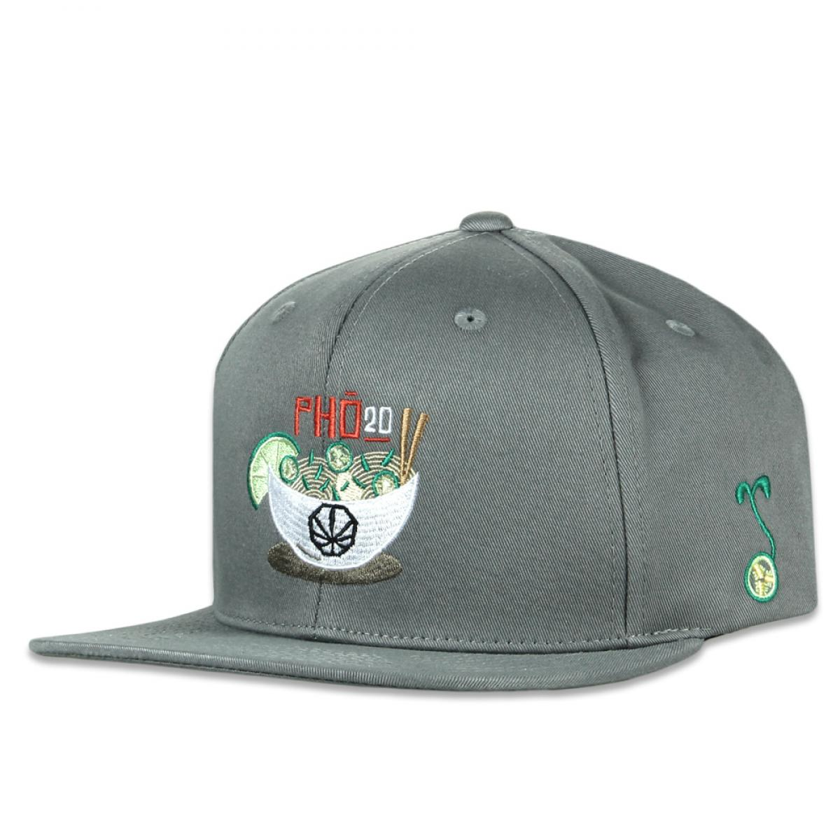 pho20 gray pro fit hat - Grassroots