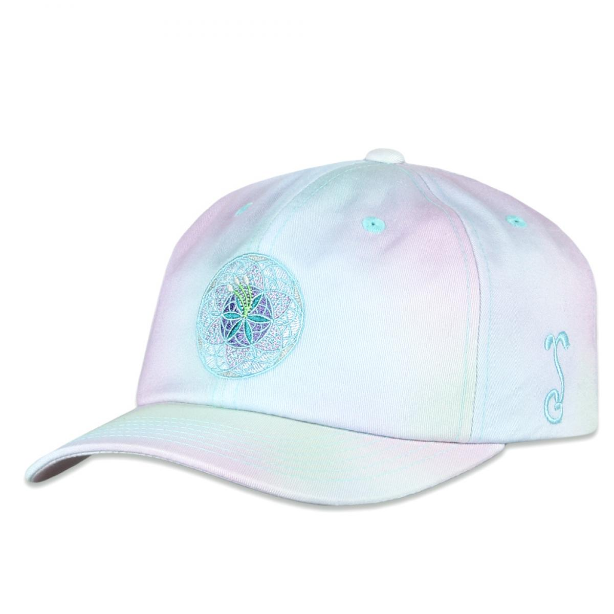 Flower of Life Tie-Dye Dad Hat