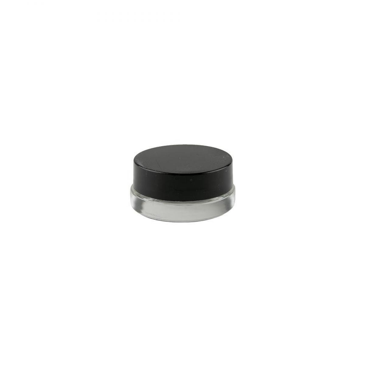 7ml Glass Concentrate Containers w/ Black Lid 90ct