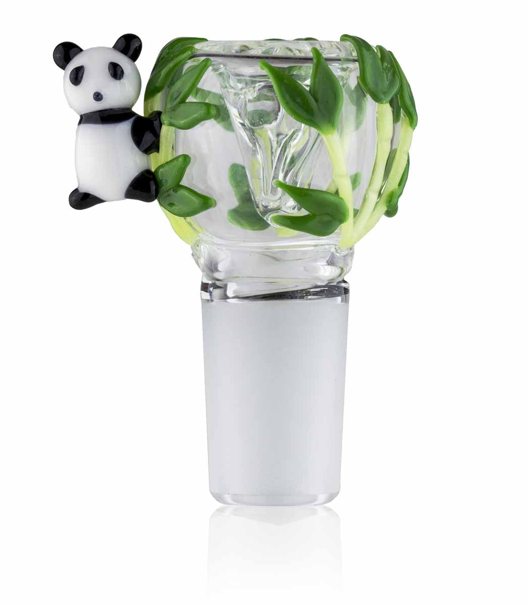 Bowl Piece - Panda - 14mm