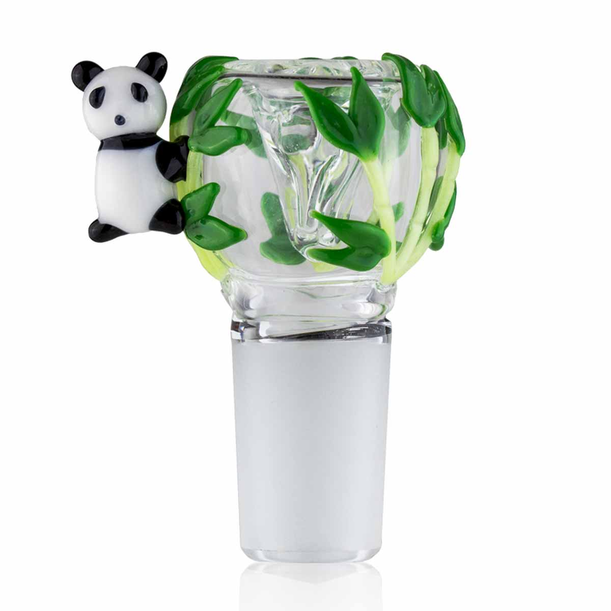 Bowl Piece - Panda - 18mm