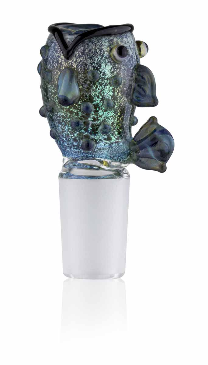Bowl Piece - Freddie Fish - 18mm