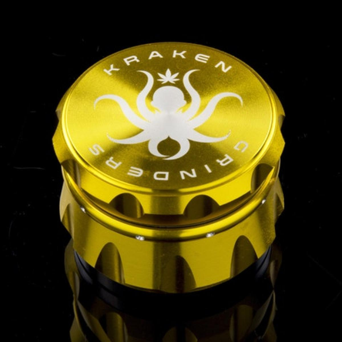 Kraken 2.5 inch 4-part Diamond Ridge Grinder