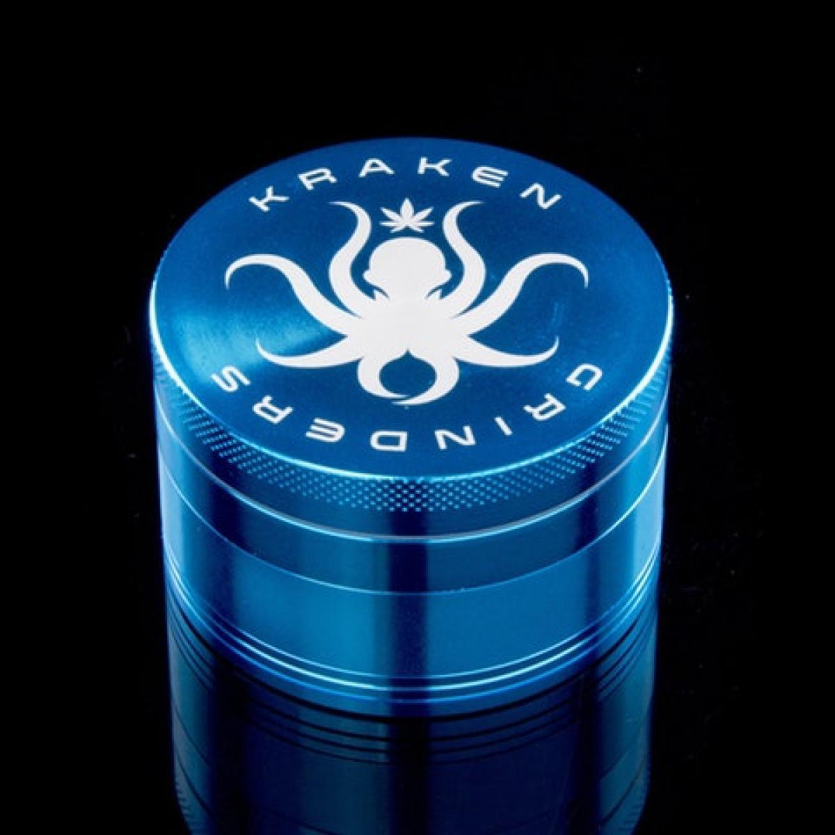Kraken 2.5 inch Solid Color 4-part Grinder