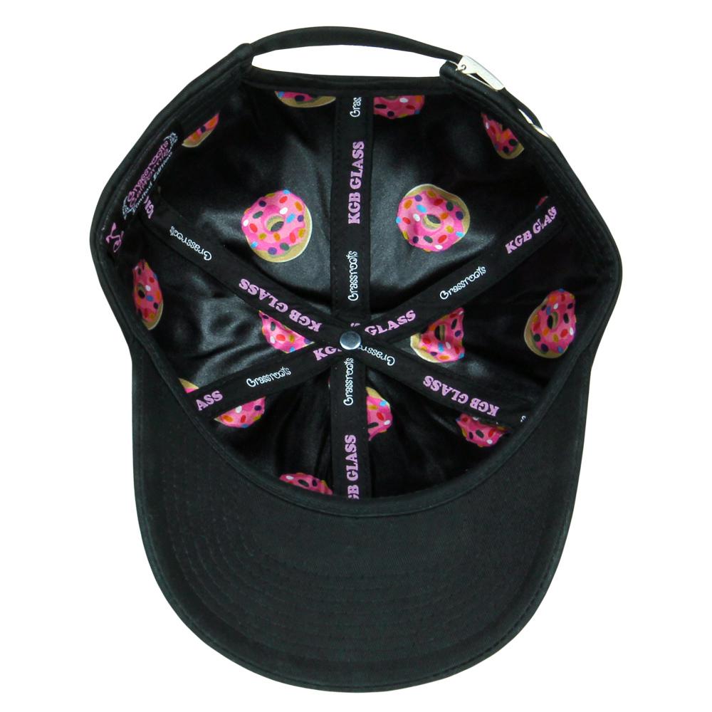 kgb Glass Pink Donut Dad Hat