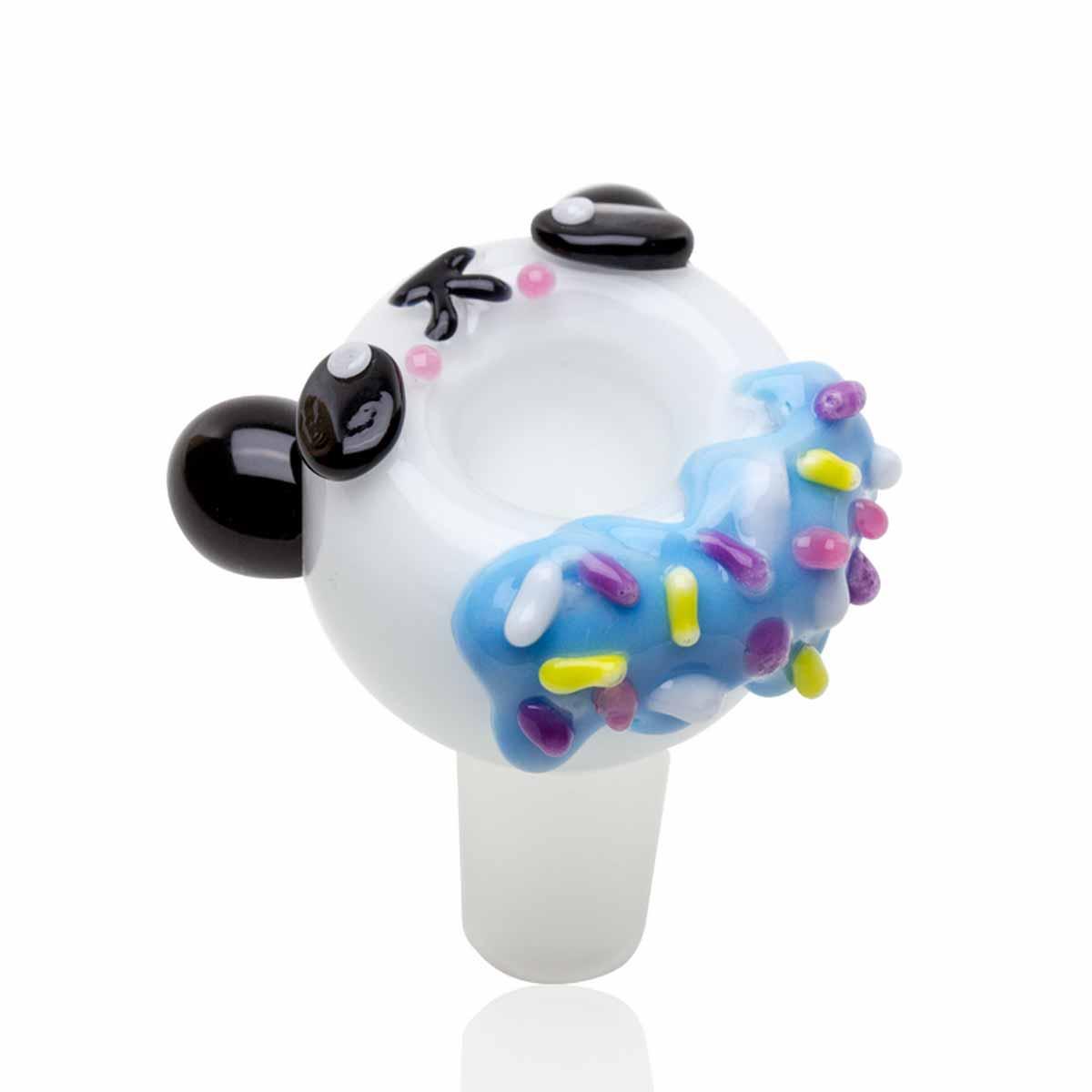 Bowl Piece - Panda Donut - 14mm