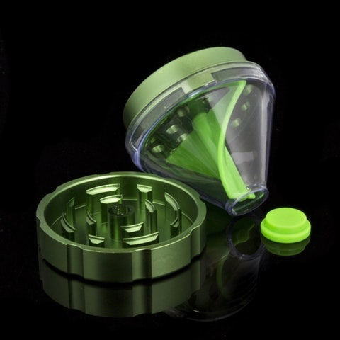 Kraken Grinders - 2.5 inch 2 Part Grinder with Stash Dispenser