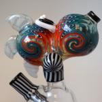 Ben Birney Multi Technique DNA Glass Feathered Yoshi